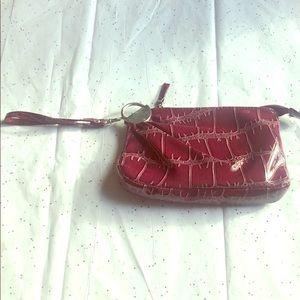 Handbags - EUC Purple Patent Wristlet